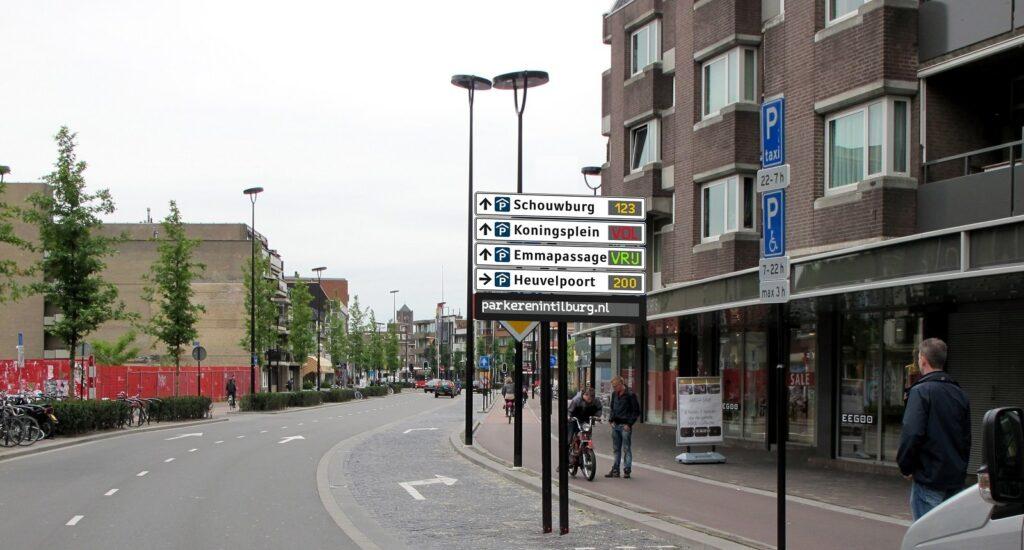 Aanbesteding Parkeerroute informatie Systeem Tilburg