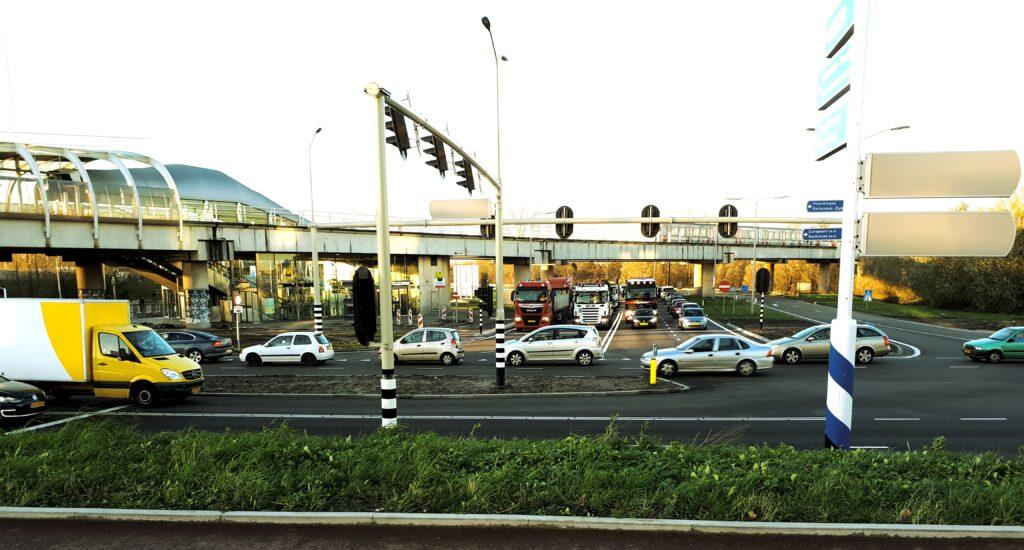Betere doorstroming verkeer op knooppunt Vijfsluizen