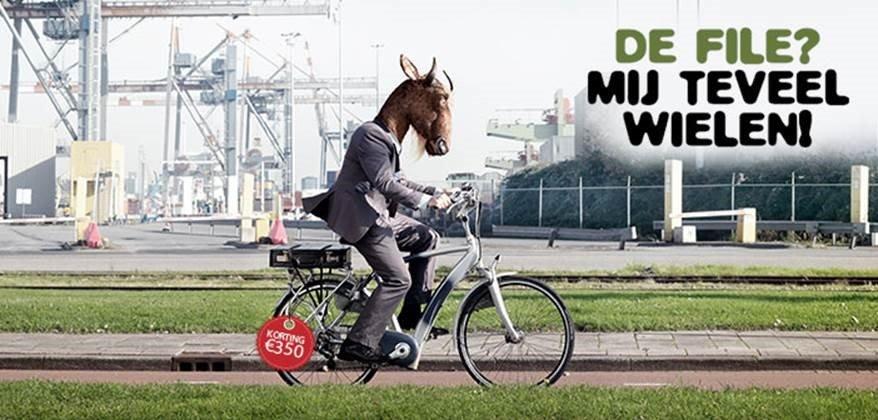 Campagne kortingsregeling aanschaf fiets woon-werkverkeer in Rotterdam