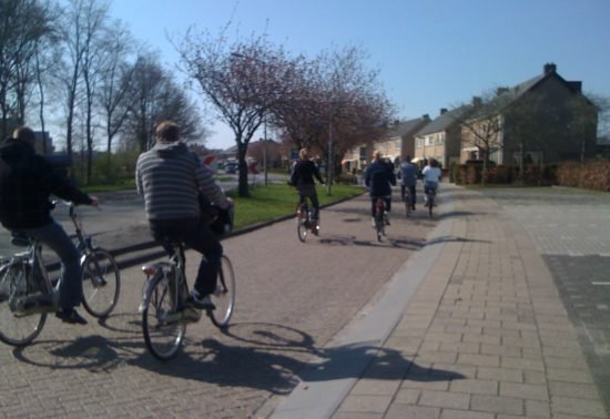 CROW Fietsberaad publiceert over drukte op fietspaden