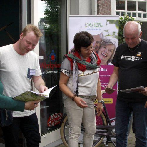 Boxtel Trapt Los: app prikkelt 50-plussers meer te fietsen