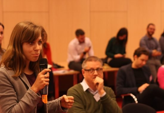 Eerste Europese fietsdeelconferentie druk bezocht
