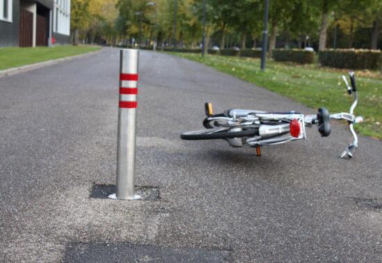 Aanpak enkelvoudige fietsongevallen