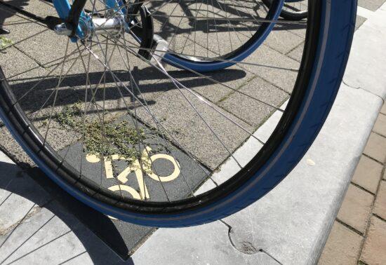 Schaalsprong fiets