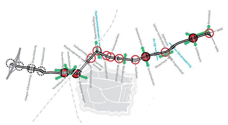 Verkeerskundige uitwerking Leidse Ring Noord