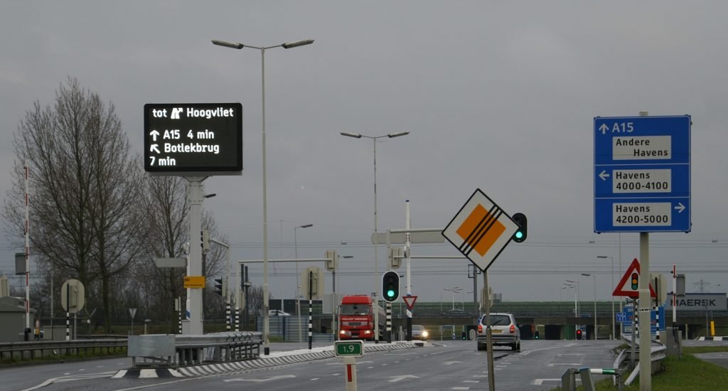 Regelscenario's alternatieve routes bij calamiteiten Zuid-Holland