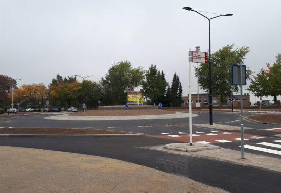 Simulatie laat zien dat rotonde verkeerslicht kan vervangen