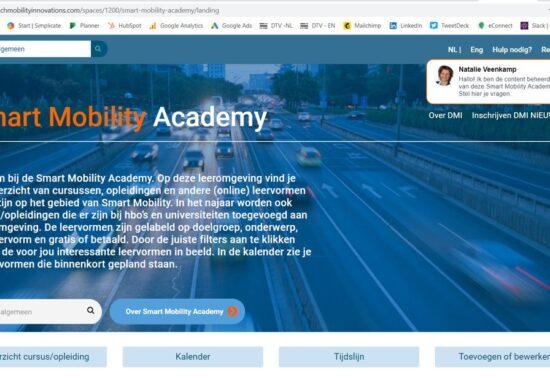 Smart Mobility Academy ontsluit broodnodige kennis voor het werkveld