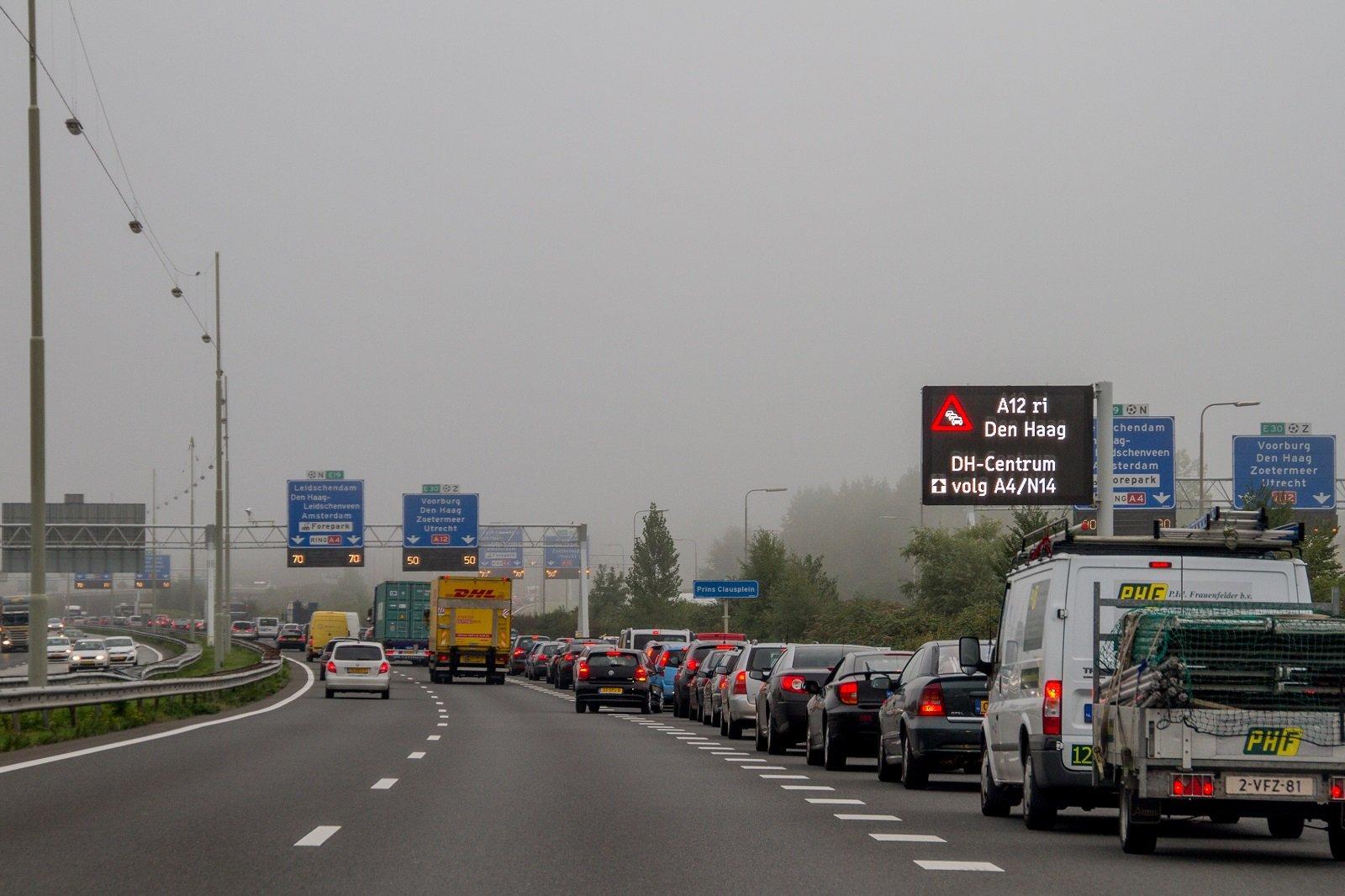 Verkeersmanagement maatregelen in Zuid-Holland