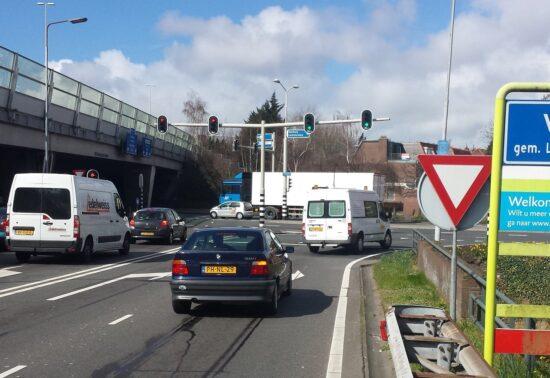 Vervanging verkeerslichten bij afrit A12 Voorburg