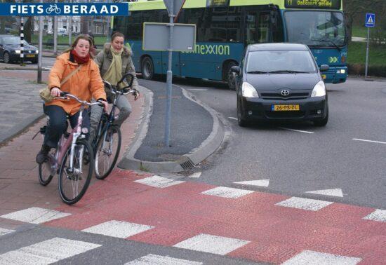 Voorrang voor fietsers op rotondes? Niks aan veranderen!
