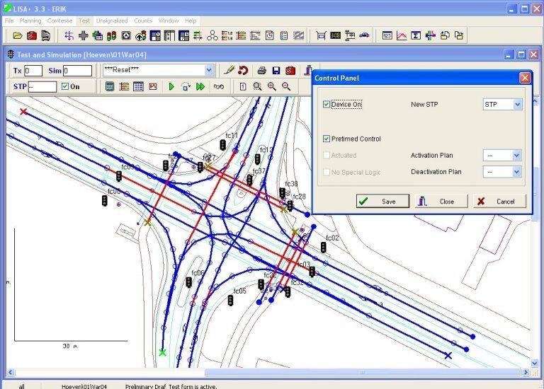 Kruispunten ontwerpen en evalueren met Lisa+